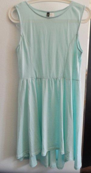 Jersey Kleid in Minze! Gr. 40 Sommerschnäppchen!