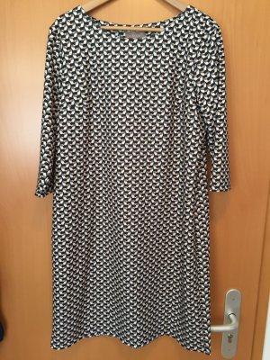 Jersey Kleid mit 3/4 Arm