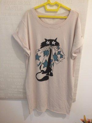 Jersey Kleid mit Katze