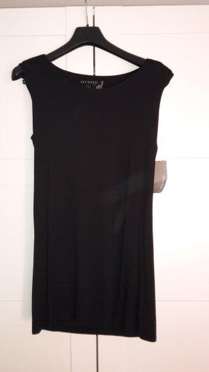 Jersey Kleid mit leicht gepolsterten Schultern