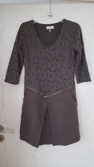 Jersey Kleid mit Spitze von Cream Gr. 38