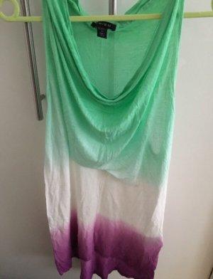 Amisu Batik shirt veelkleurig Katoen