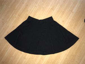 H&M Cirkelrok zwart Katoen