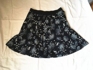 Tulip Skirt white-dark blue