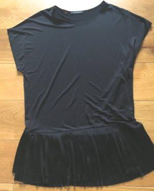 Jersey-Shirt von Strenesse Gr. 42 schwarz neu
