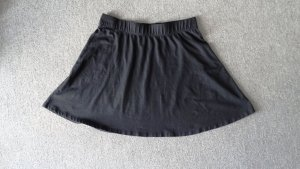 H&M Skater Skirt black