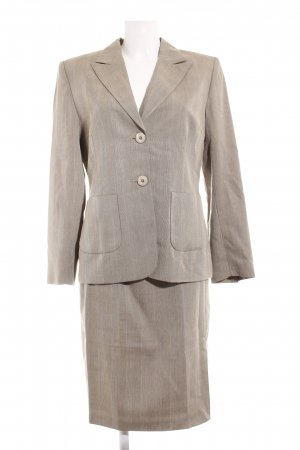 Twin Set tipo suéter light brown-white check pattern business style