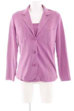 Jersey Twin Set violett Casual-Look