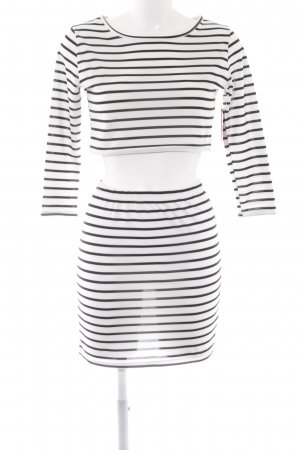 Twin Set tipo suéter white-black striped pattern casual look