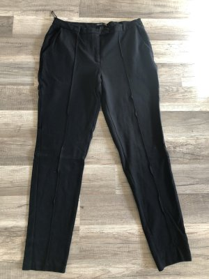 Mango Pantalon à pinces noir