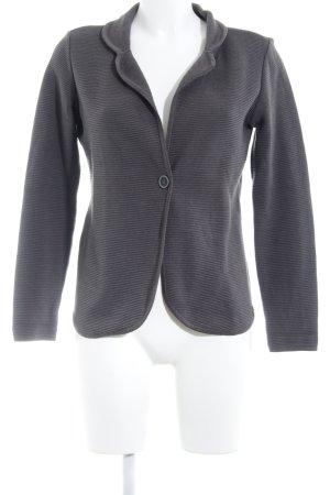 Jersey blazer donkergrijs casual uitstraling