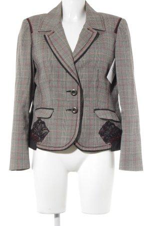 Jersey Blazer estampado príncipe de Gales look casual