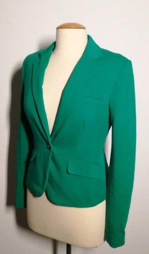 Jerseyblazer in grün