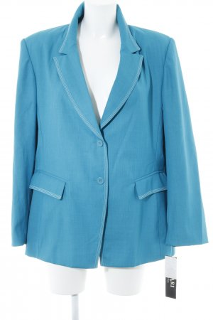 Jersey blazer cadet blauw elegant