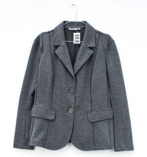 Jersey Blazer grey cotton