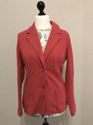 Tchibo / TCM Jersey Blazer magenta-rojo frambuesa