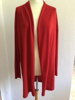 Jerseyjacke von Windsor, Sommerjacke in Rot, schick und lessig