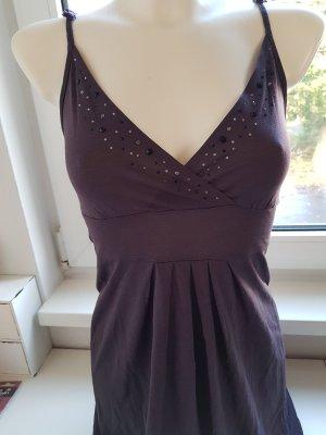 edc by Esprit Vestido de tela de jersey lila grisáceo