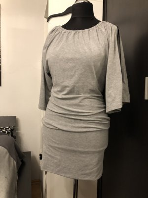 Jerseykleid grau