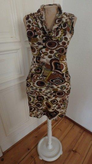 Jerseykleid im 70's Style