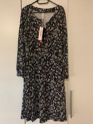 Jerseykleid in A-Linie, sommerlich, gemustert