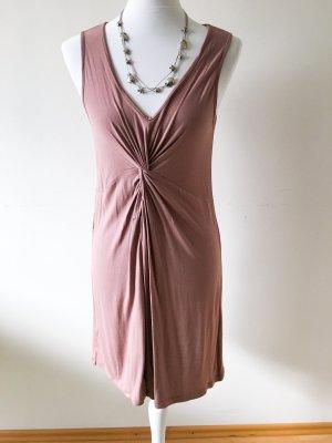 Jerseykleid in Altrosa