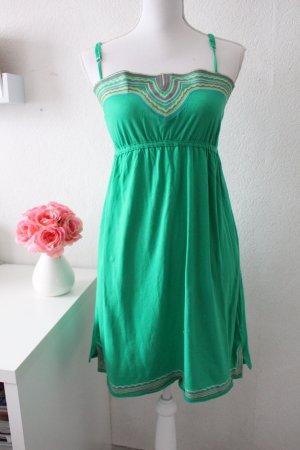 Jerseykleid in grün Größe L