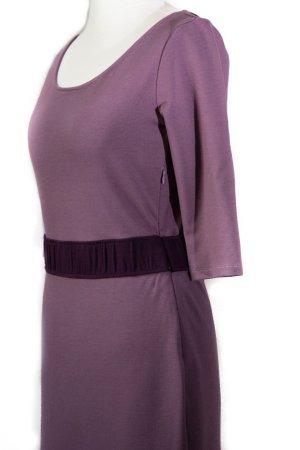 Jerseykleid in Violett