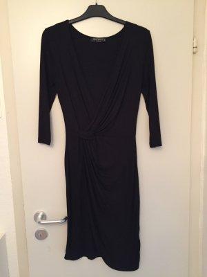 Jerseykleid in Wickeloptik in 38