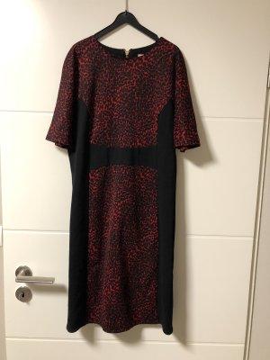 Michael Kors Jersey Dress black-dark red
