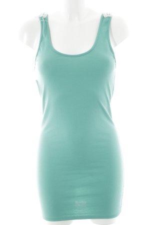 Jerseykleid mint-wollweiß Beach-Look