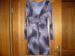 Jerseykleid mit Animalprint von Piu & Piu