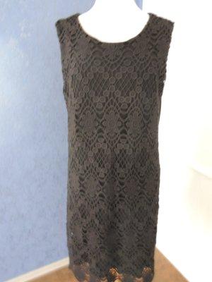 Jerseykleid mit Baumwollspitz ohne Arm