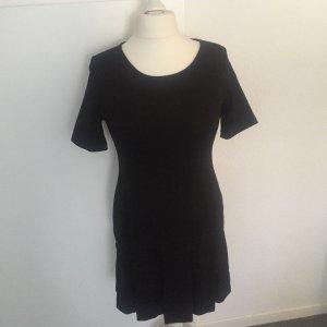 Jerseykleid mit Falten