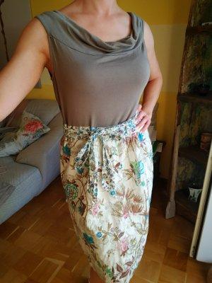Jerseykleid mit floralem Muster Gr. 40