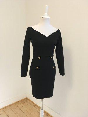 Jerseykleid mit Knöpfen