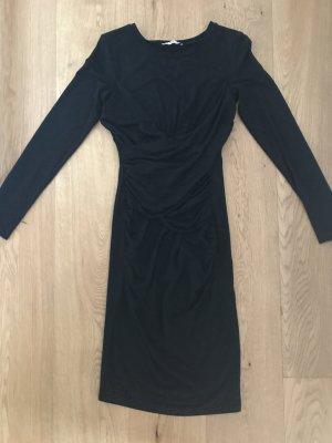 Jerseykleid mit Raffung