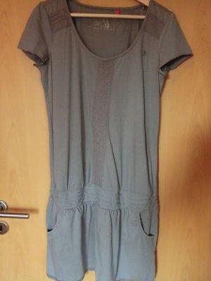 Jerseykleid mit Raffung in der Taille