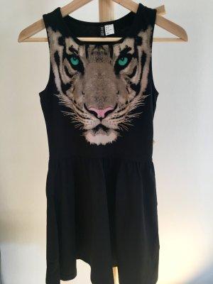 Jerseykleid mit Tiger