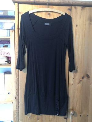 Jerseykleid schwarz