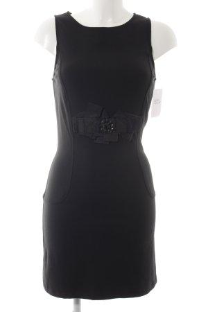 Jerseyjurk zwart elegant