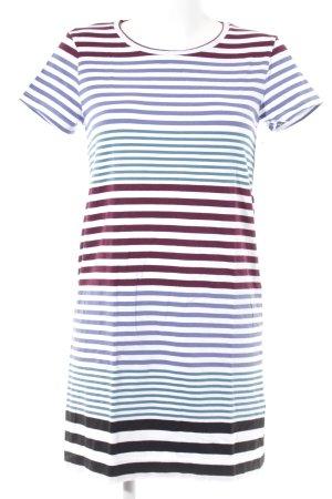Jersey Dress striped pattern casual look