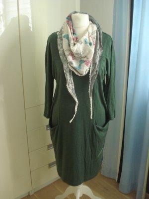 Jerseykleid von Rainbow Gr. 40/42 Oliv Grün