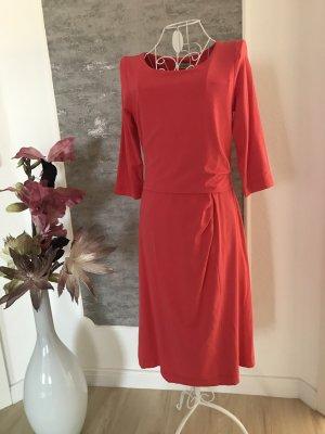 Uta Raasch Robe en jersey rouge clair tissu mixte