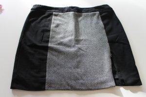 Jerseyrock in grau/schwarz von Malvin
