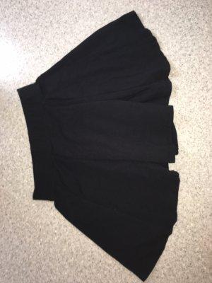Forever 21 Skater Skirt black-grey