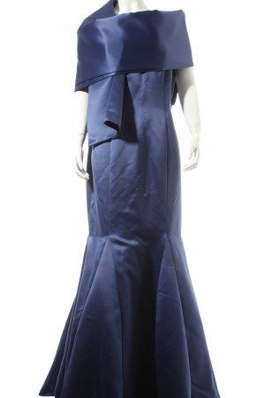 Jessica McClintock Abendkleid dunkelblau Eleganz-Look