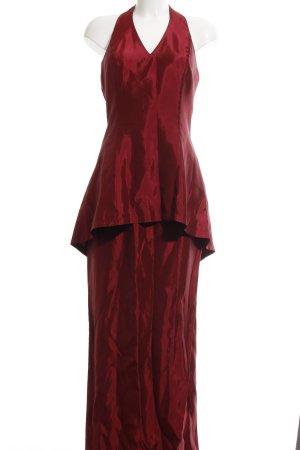 Jessica McClintock Halterjurk rood elegant