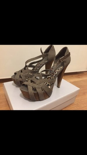 Jessica Simpson High Heels Pumps Sandalen Plateau 39