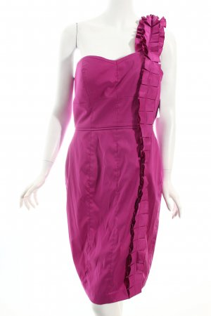 Jessica Simpson One-Shoulder-Kleid violett Casual-Look